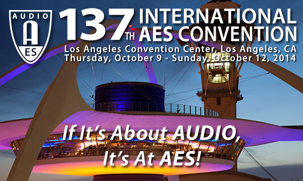 AES 137th International Convention